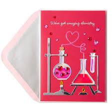 chemistry valentine u0027s day cards papyrus