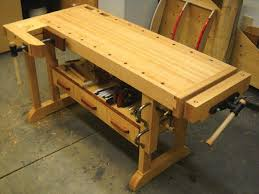 Building Woodworking Bench Hammer Small Shop Tips Canadian Woodworking Magazine