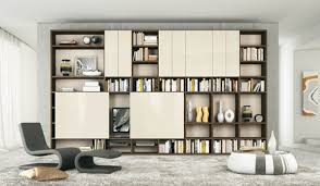 Bookshelves And Storage by Modern Living Rooms With Shelving Storage Units Home Design And