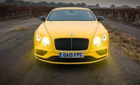 bentley v8s price 2016 bentley continental gt v8 s u2013 review u2013 car and driver