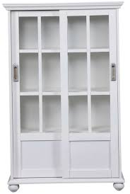 white bookshelves with doors home design ideas