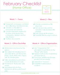 home office organizing tax documents