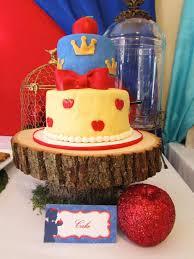kara u0027s party ideas snow white themed birthday party
