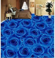 self adhesive wallpaper blue 3d pvc floor wallpaper blue 3d living room bedroom floor