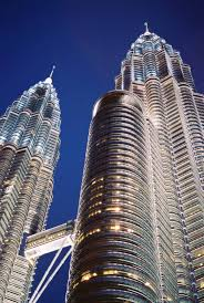 the petronas towers in malaysia it emphasizes a search for