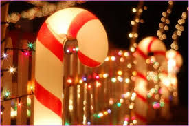Outdoor Christmas Decorations Candy Canes by Illuminated Outdoor Christmas Decorations 3d Candy Cane Archway