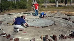 Round Patio Pavers by Paver Installation You Can Do It State By State Gardening
