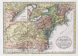 Cary Map 1780 To 1784 Pennsylvania Maps