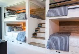 House Bunk Beds Country House Bunk Room With Size Bunk Beds Idesignarch