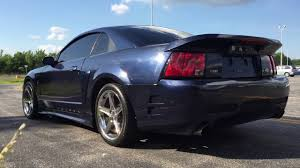 2001 Black Mustang Fast 2001 Ford Mustang Saleen S 281 Youtube