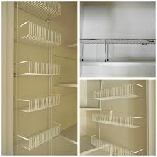 kitchen pantry shelving ideas tiered wall mounted kitchen pantry shelves decofurnish pantry wire