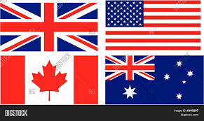 Flags Of Countries Flag English Speaking Countries Vector U0026 Photo Bigstock