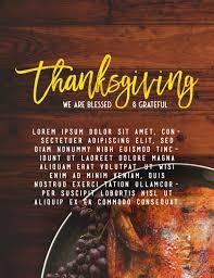 prayer for thanksgiving church flyer template template flyer templates