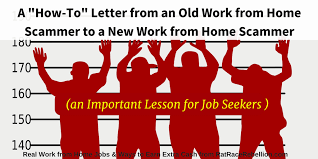 a how to letter from an old scammer to a new scammer lessons for