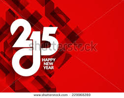 beautiful red color modern happy new stock vector 229968289