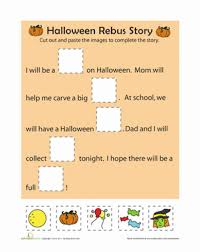rebus story worksheets and school