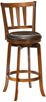 Wooden Swivel Bar Stool Hillsdale Presque Isle Swivel Bar Stool Brown
