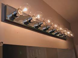 replacing bathroom vanity lighting interiordesignew com