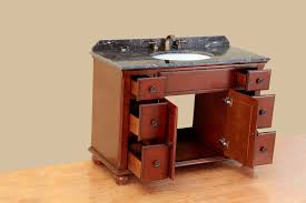 bosconi 47 inch antique single sink bathroom vanity