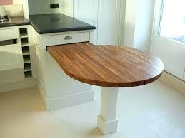 table de cuisine escamotable table cuisine amovible table cuisine