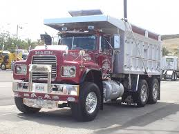 mack dump truck mack r model modern mack truck general discussion