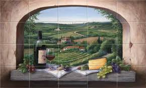 kitchen tile murals italian tiles for kitchen italian murals for