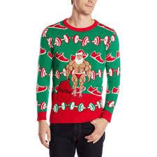 santa sweater gains lifting santa sweater crush