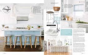 adore home magazine features danni u0027s hamptons style ktichen