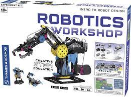 amazon com thames u0026 kosmos robotics workshop kit toys u0026 games
