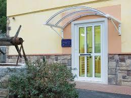 tettoie per porte esterne tettoie per ingressi coperture e pensiline per ingressi
