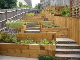 Sloping Garden Ideas Photos Garden Design For Sloping Garden Ideas Dunneiv Org