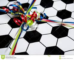 soccer wrapping paper sports birthday present stock images image 27378874