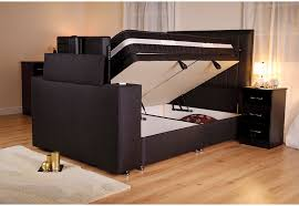 king size ottoman bed frame image sparkle tv bed