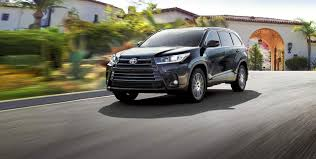 toyota jeep black 2018 highlander and highlander hybrid toyota canada