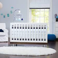 just born classic collection collection crib bedding in navy