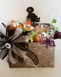 halloween gift basket gift basket by cwgiftbasketdesign on etsy