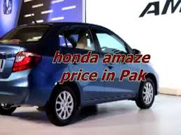 amaze honda car price 2016 honda amaze price in pakistan and honda cars interior