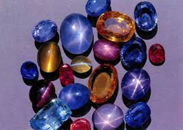 benitoite star of david rathnapura city of jems sri lanka rubies safires topaz and
