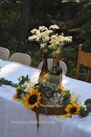 Beer Centerpieces Ideas by Best 25 Sunflower Wedding Centerpieces Ideas On Pinterest