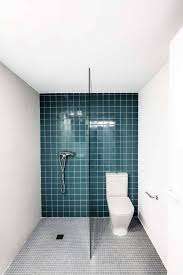 light green tiles bathroom