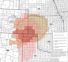 map of us federal states file map of states and counties affected by the dust bowl sourced