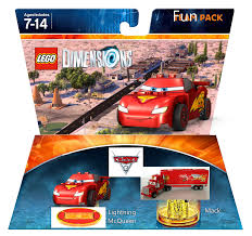 lego cars image lego dimensions year 3 cars 3 lightning mcqueen fun pack