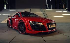 Audi R8 Red - r8 red car hd wallpaper