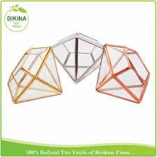 Colored Vases Wholesale Wedding Table Centerpieces Lantern Geometric Conservatory Large