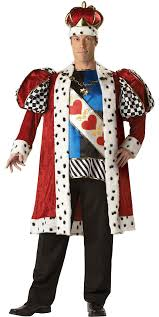 Halloween King Costume King Hearts Size Costume Costumes