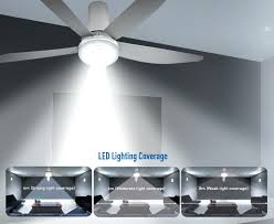 60 In Ceiling Fans With Lights Ceiling Fan With Led Light Healingtheburn Org