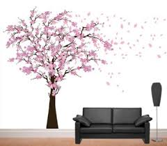 Cherry Blossom Tree Wall Decal For Nursery Amusing Cherry Blossom Wall Decor Plus Decal By Leolittlelion On