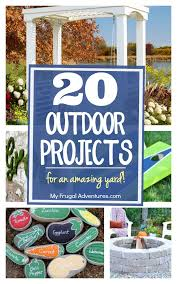 Funky Garden Decor 20 Outdoor Diy Projects For An Amazing Yard My Frugal Adventures