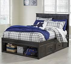 ashley storage bed ashley signature design jaysom full panel storage bed in rub