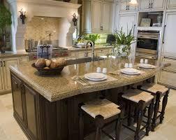 permanent kitchen island